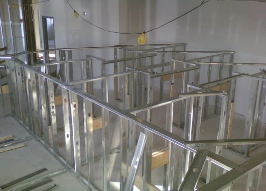 Steel Stud Framing Southern Interiors Ltd